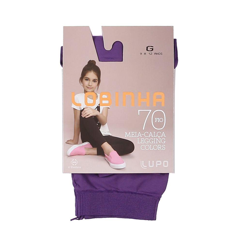 Meia-Calça Lupo Infantil Para Menina - Roxo - Lojas Pompeia 3f695fcf81