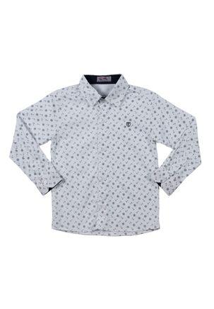 Camisa-Manga-Longa-Infantil-Para-Menino---Branca