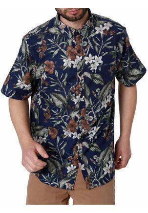 Camisa-Manga-Curta-Masculina-Azul-Marinho-1