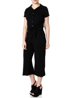 Camisa-Manga-Curta-Feminina-Preto-P