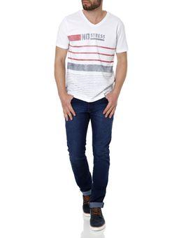 Camiseta-Manga-Curta-Masculino-No-Stress-Branco