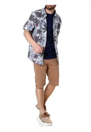 Camisa-Manga-Curta-Sibra-Cinza