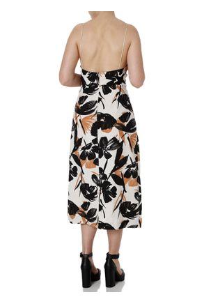 Vestido-Midi-Feminino-Autentique-Nude-preto