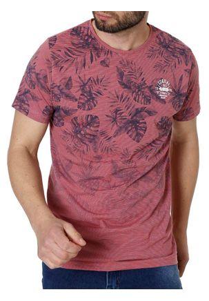 Camiseta-Manga-Curta-Masculina-Vermelho