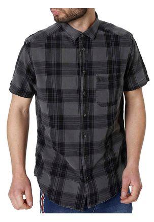 Camisa-Manga-Curta-Urban-City-Cinza