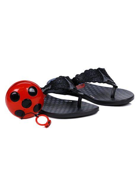 Chinelo-Rasteiro-Ladybug-Infantil-Para-Menina---Preto-25
