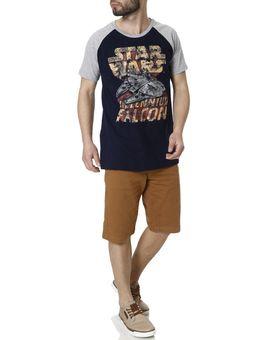 Camiseta-Manga-Curta-Masculina-Star-Wars-Azul-P