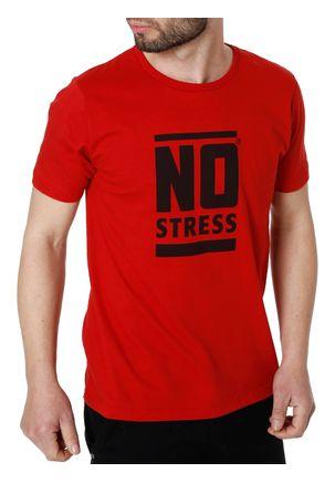 Camiseta-Manga-Curta-No-Stress-Vermelho