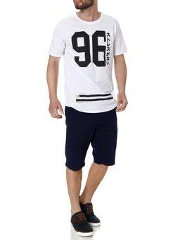 Camiseta-Manga-Curta-Masculina-No-Stress-Branco
