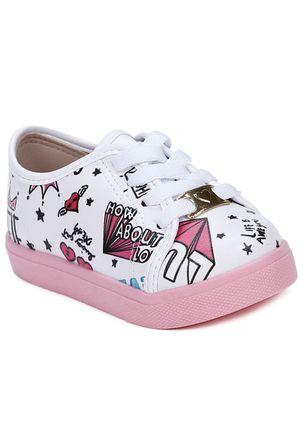 Tenis-Molekinha-Infantil-Para-Bebe-Menina---Branco--Multicolorido-17