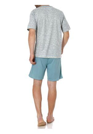 Pijama-Curto-Masculino-Verde