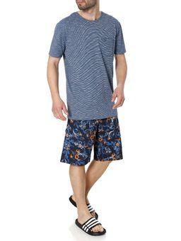 Bermuda-Praia-Masculina-Gangster-Azul-Marinho-38