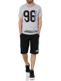 Camiseta-Manga-Curta-Masculina-No-Stress-Cinza-P