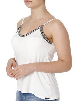 f9dba3d367 Blusa Regata Feminina Autentique Off White