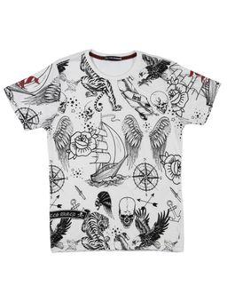 Camiseta-Manga-Curta-Local-Juvenil-Para-Menino---Bege-16
