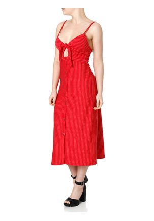 Vestido-Midi-Feminino-Autentique-Vermelho