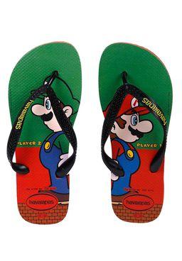 Chinelo-Masculino-Havainas-Mario-Bros-Vermelho-verde
