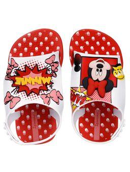 Sandalia-Disney-Infantil-Para-Bebe-Menina---Vermelho-branco-19