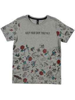 Camiseta-Manga-Curta-Verde