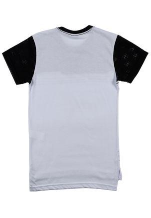 Camiseta-Manga-Curta-Federal-Art-Juvenil-Para-Menino---Branco-preto-16