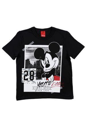 Camiseta-Manga-Curta-Disney-Infantil-Para-Menino---Preto-6