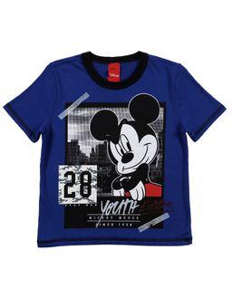 Camiseta-Manga-Curta-Disney-Infantil-Para-Menino---Azul-6