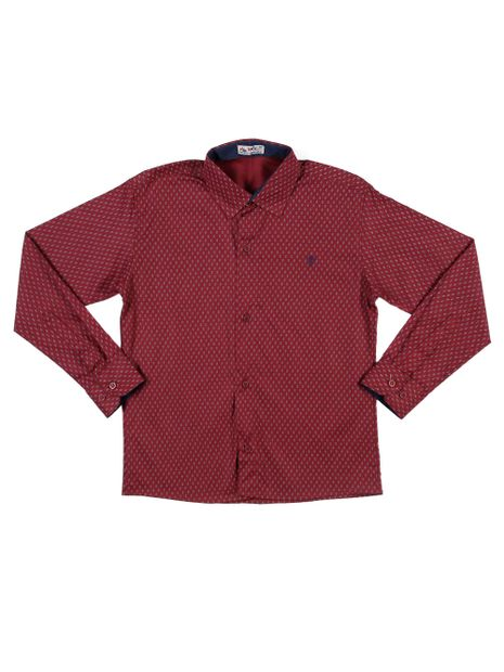 Camisa-Manga-Longa-Juvenil-Para-Menino---Vinho-16