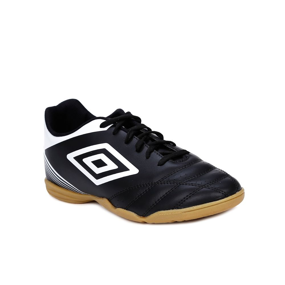 Tênis Futsal Masculino Umbro Striker Iv Indoor Preto branco - Lojas ... 409964fc7c726
