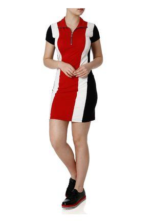 Vestido-Autentique-Off-White-vermelho