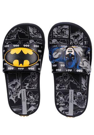 Chinelo-Slide-Batman-Infantil-Para-Menino---Preto-cinza-amarelo-25
