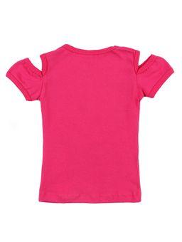 Blusa-Manga-Curta-Infantil-Para-Menina---Rosa-Pink-1