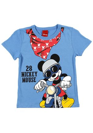 Camiseta-Manga-Curta-Disney-Infantil-Para-Menino---Azul-1