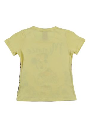 Blusa-Manga-Curta-Disney-Infantil-Para-Menina---Amarelo