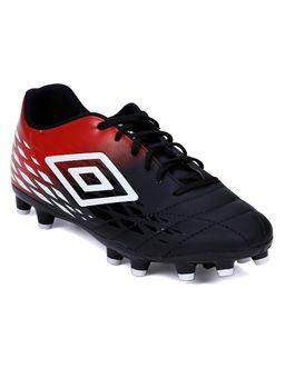 Chuteira-Masculina-Umbro-Fifty-Ii-Campo-Preto-vermelho-branco-37