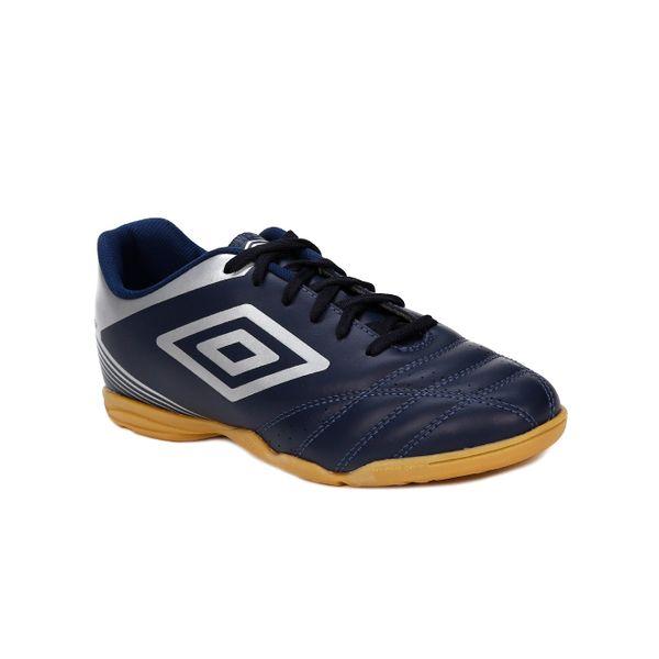1e1f65b036 Tênis Futsal Masculino Umbro Striker Iv Indoor Azul Marinho prata - Lojas  Pompeia