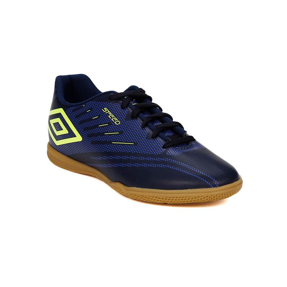 Tênis Futsal Masculino Umbro Speed Iv Azul Marinho - Lojas Pompeia 7c97ca3e693b4