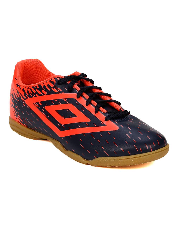 62b73df2fd Tênis Futsal Masculino Umbro Acid Azul Marinho coral - Lojas Pompeia