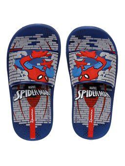 Chinelo-Slide-Homem-Aranha-Infantil-Para-Menino---Azul