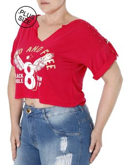 Blusa-Cropped-Manga-Curta-D-News-Plus-Size-Rosa