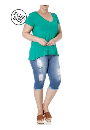 Calca-Capri-Jeans-Plus-Size-Feminina-Azul