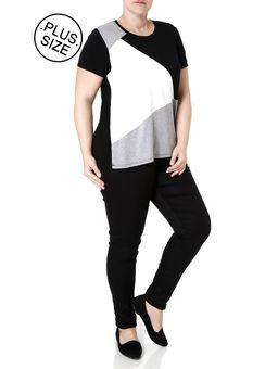 Blusa-Manga-Curta-Plus-Size-Feminino-Autentique-Preto-off-White