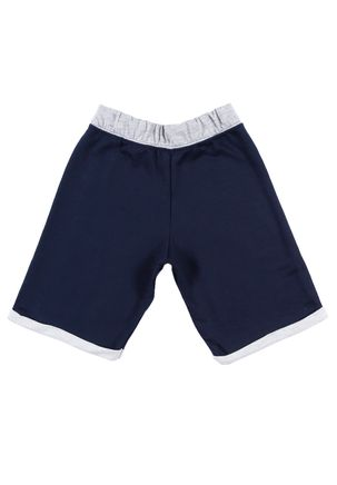 Bermuda-Moletom-Infantil-Para-Menino---Azul-Marinho-1