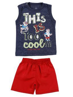 Conjunto-Infantil-Para-Bebe-Menino---Azul-vermelho-M