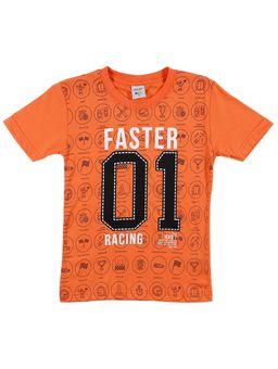 Camiseta-Manga-Curta-DESAYNER-Laranja