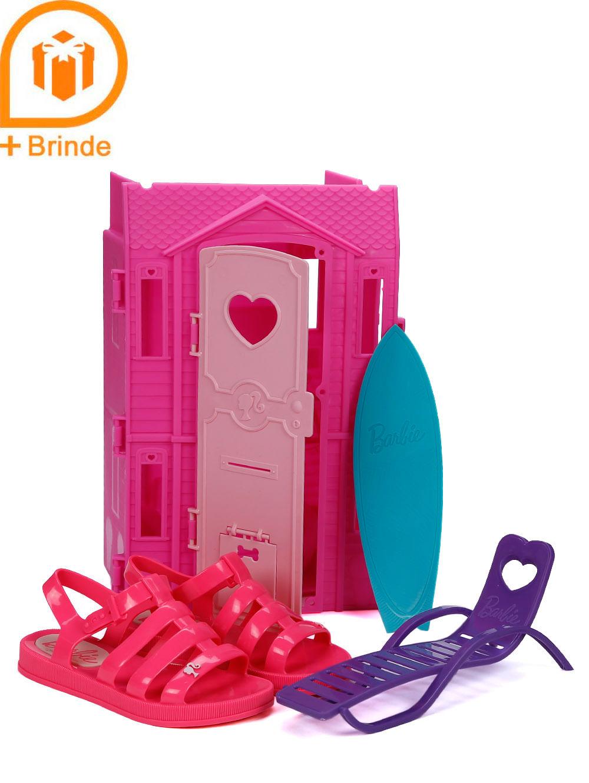 1d02191a5 Sandália Barbie Infantil Para Menina - Rosa - Lojas Pompeia
