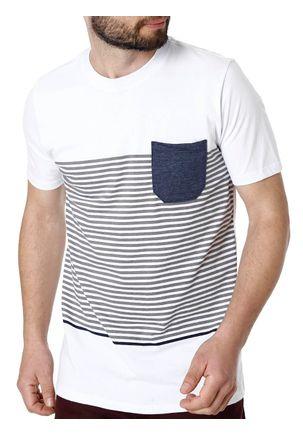 Camiseta-Manga-Curta-Masculina-Rovitex-Branco-P
