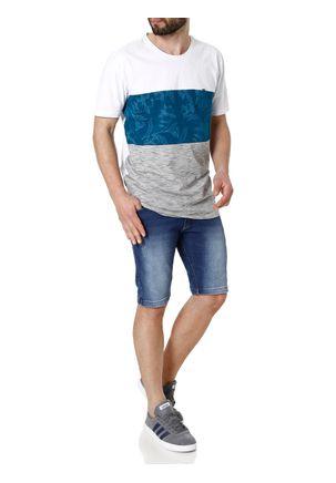Camiseta-Manga-Curta-Masculina-Branco-azul-P