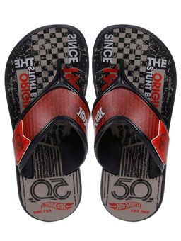 Chinelo-Hot-Wheels-Infantil-Para-Menino---Preto-vermelho-cinza-25