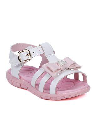 Sandalia-Klin-Infantil-Para-Bebe-Menina---Branco-rosa