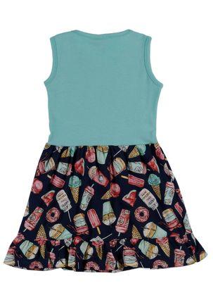 Vestido-Infantil-Para-Menina---Verde-azul-Marinho-1